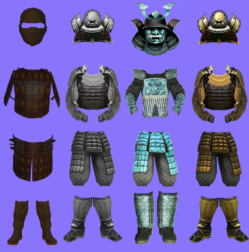 New Armor Icons