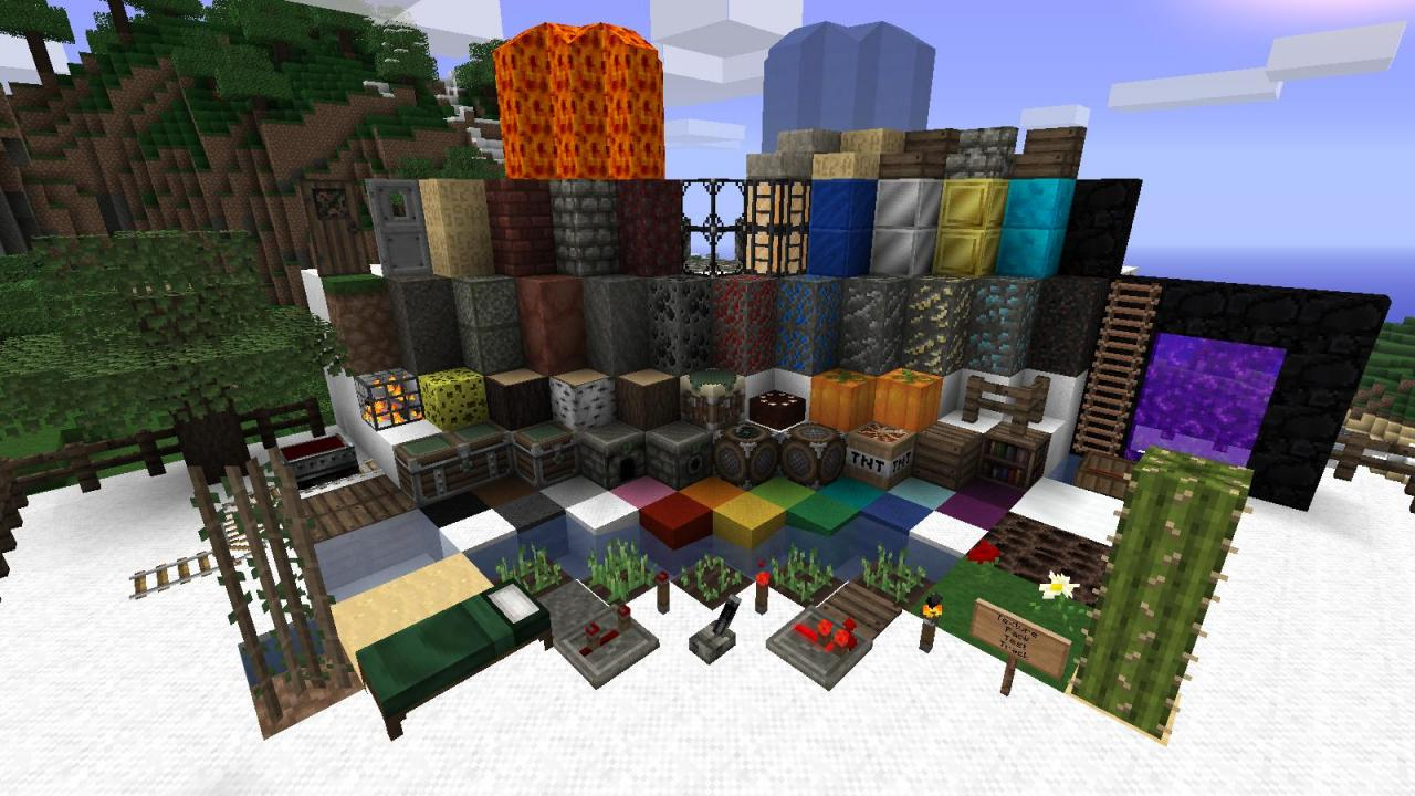 TPTT shot that shows all of the blocks (version 1.5 of the pack)