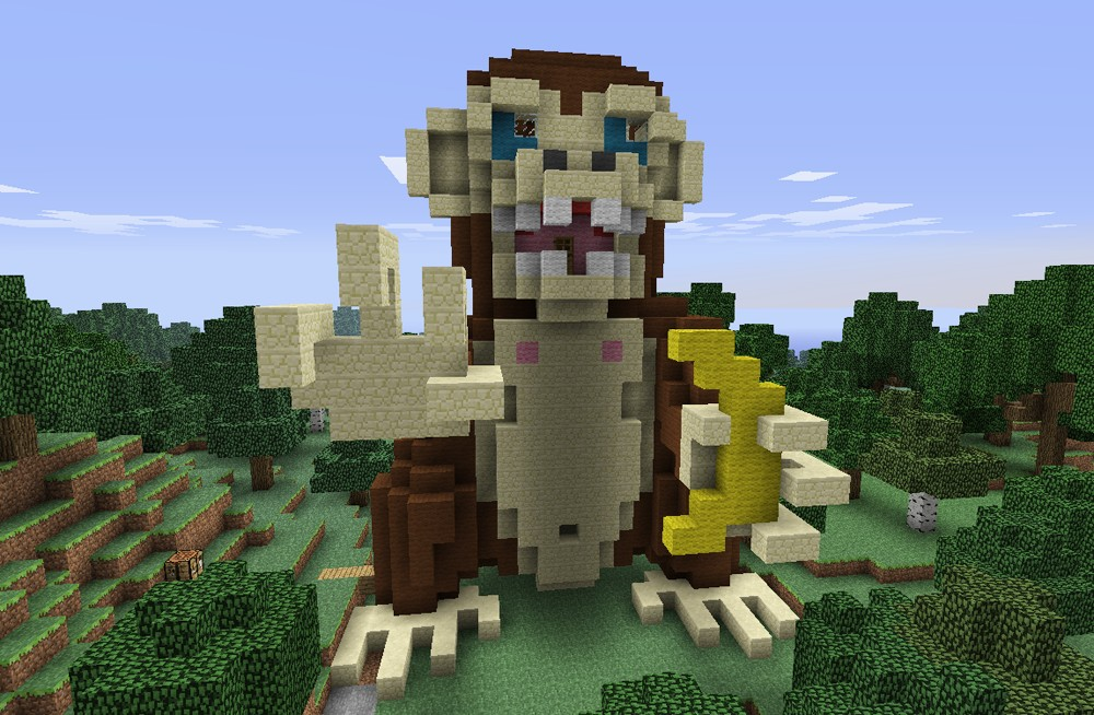 how to put a bunny on your head in minecraft
