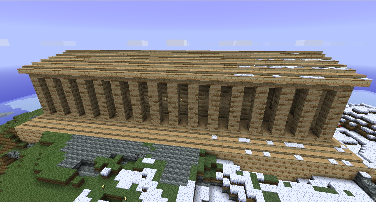 Minecraft Taj Mahal Blueprint