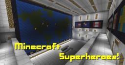 [Adv] Minecraft SUPERHEROES! Minecraft Map & Project