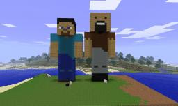 Player Statue Minecraft Map & Project