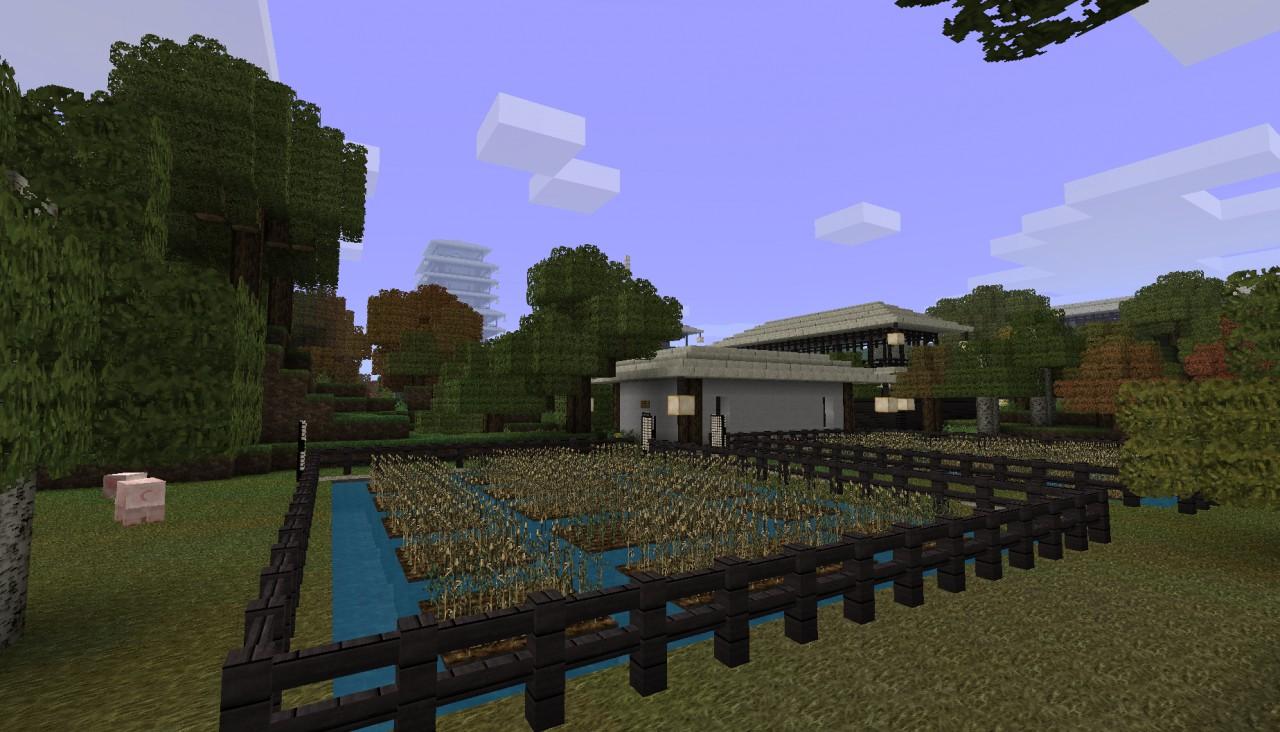 Reflexo 39 S Lubia A Japanese Village Minecraft Project
