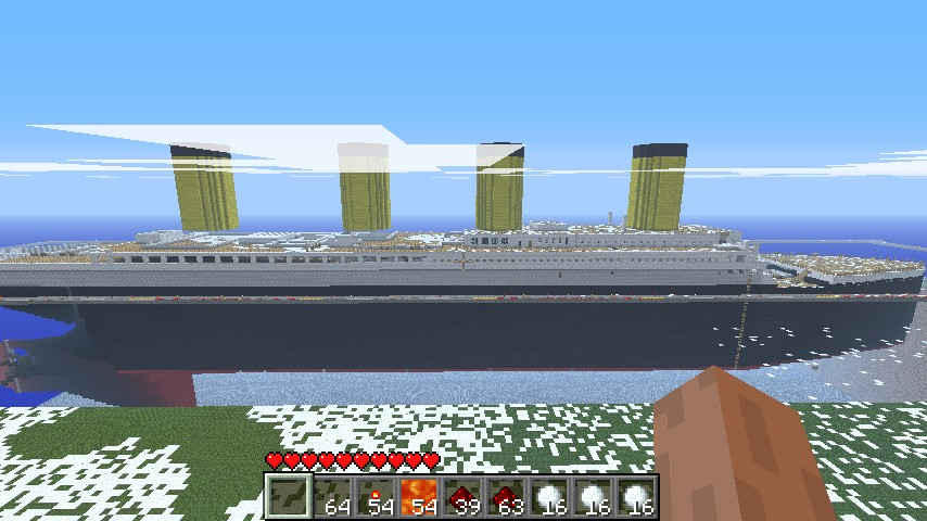 Shapka Rastamana Shema Vyazaniya Kryuchkom also Titanic 1 1 further Alien Mothership Ufo furthermore Giant Bonsai Tree as well What Are Some Tips For Mastering Redstone Circuits. on minecraft schematics