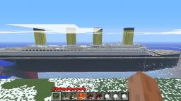 Titanic 1 : 1 Minecraft Map & Project
