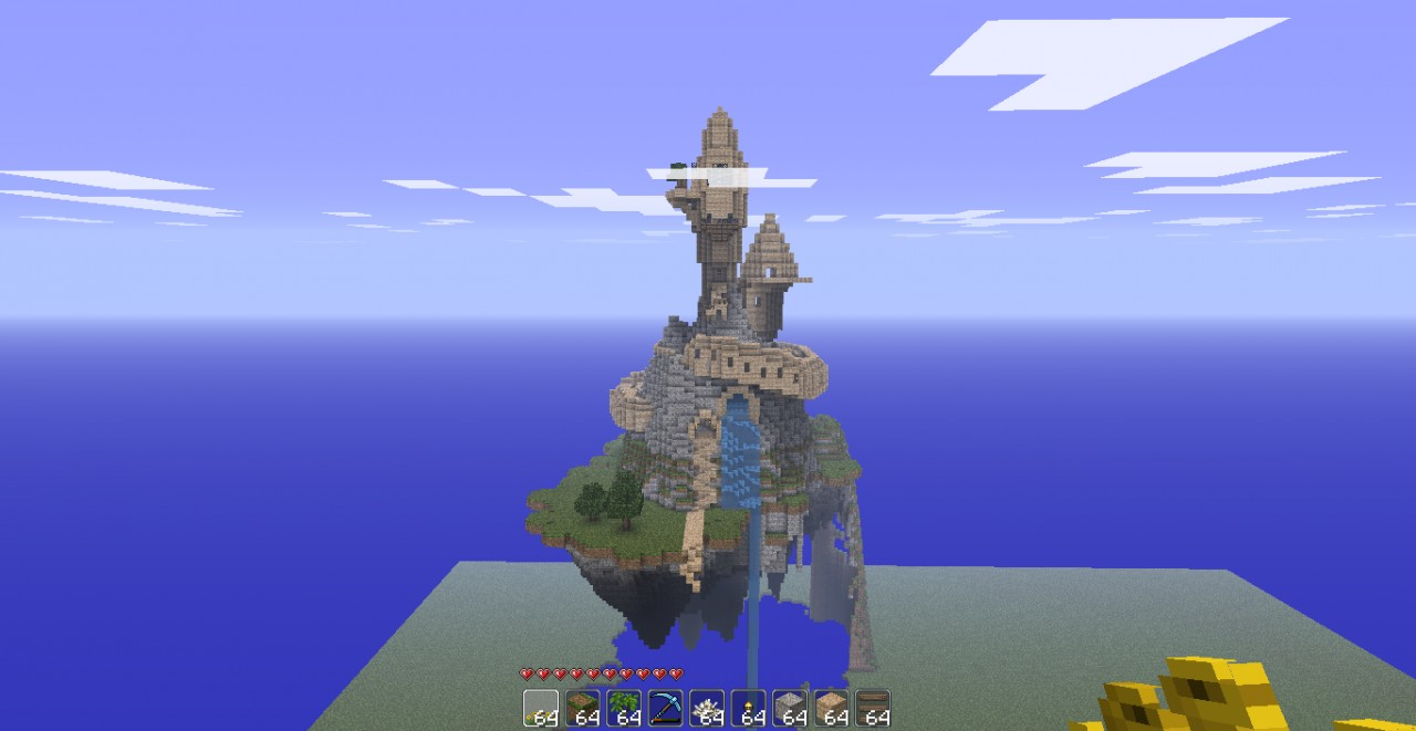 giant magical castle i...