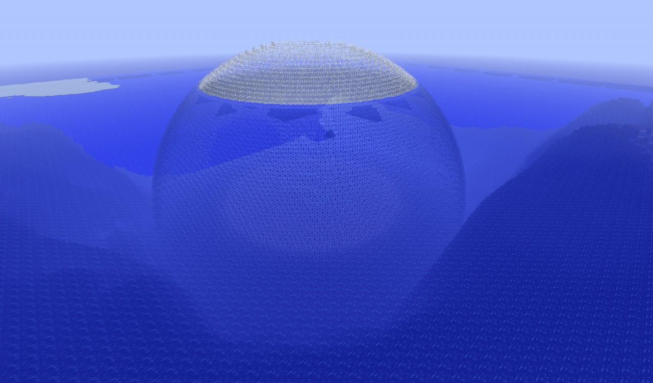 Underwater City Schematic Minecraft Project
