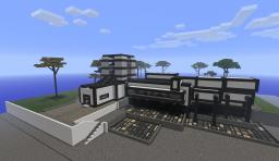 My modern house Minecraft Map & Project
