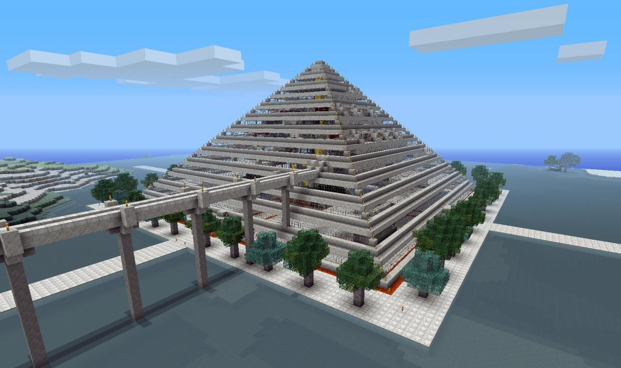 Pyramid part of gaza project minecraft project for House projects