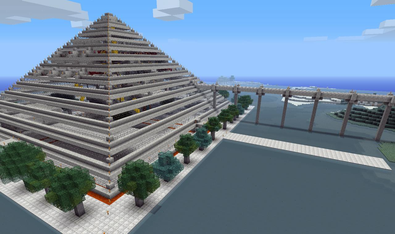 Pyramid Part Of Gaza Project Minecraft Project
