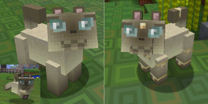 Default Alpha Cat texture - Siamese