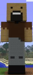 Statue of Notch Minecraft Map & Project