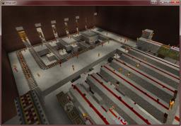 Automated Rail Station on PoopiePant's Build Server Minecraft Map & Project