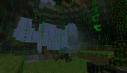 Matrix Code Rain Minecraft Texture Pack