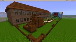 School w/ Playground and Gym Minecraft Map & Project