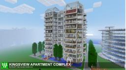 Kingsview Apartment Complex Minecraft Map & Project
