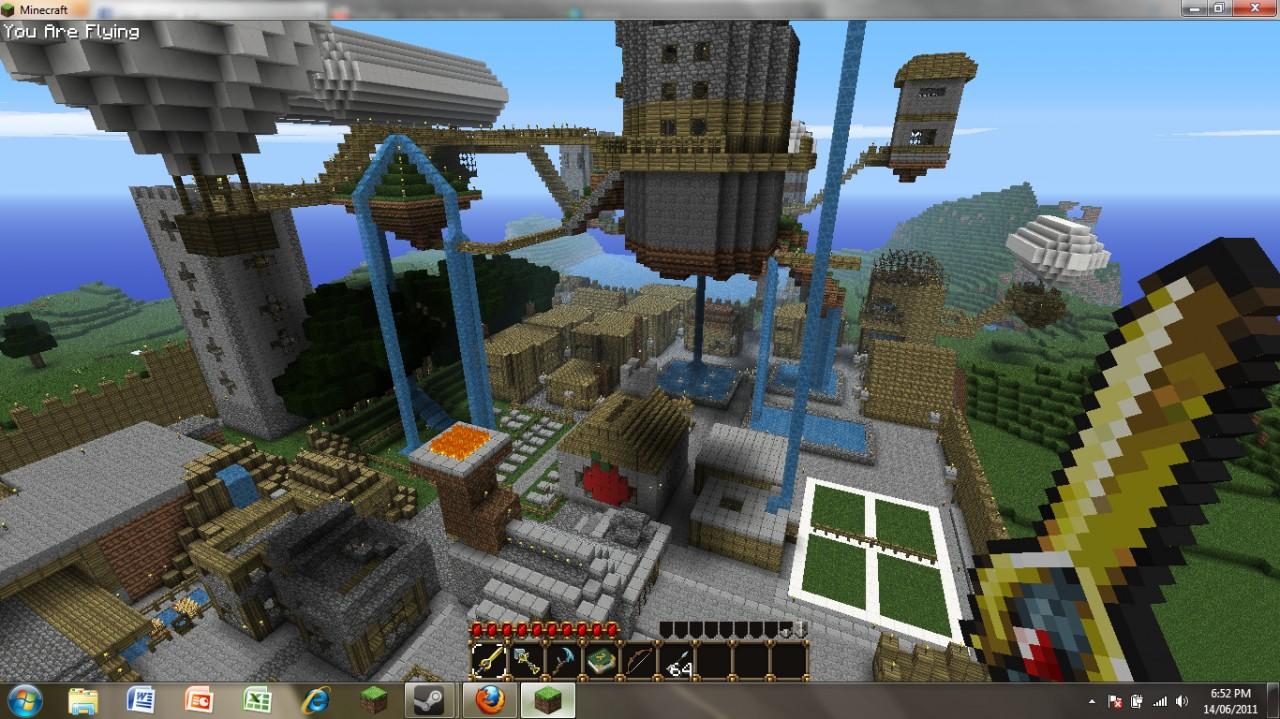 Minecraft Mistral City Map