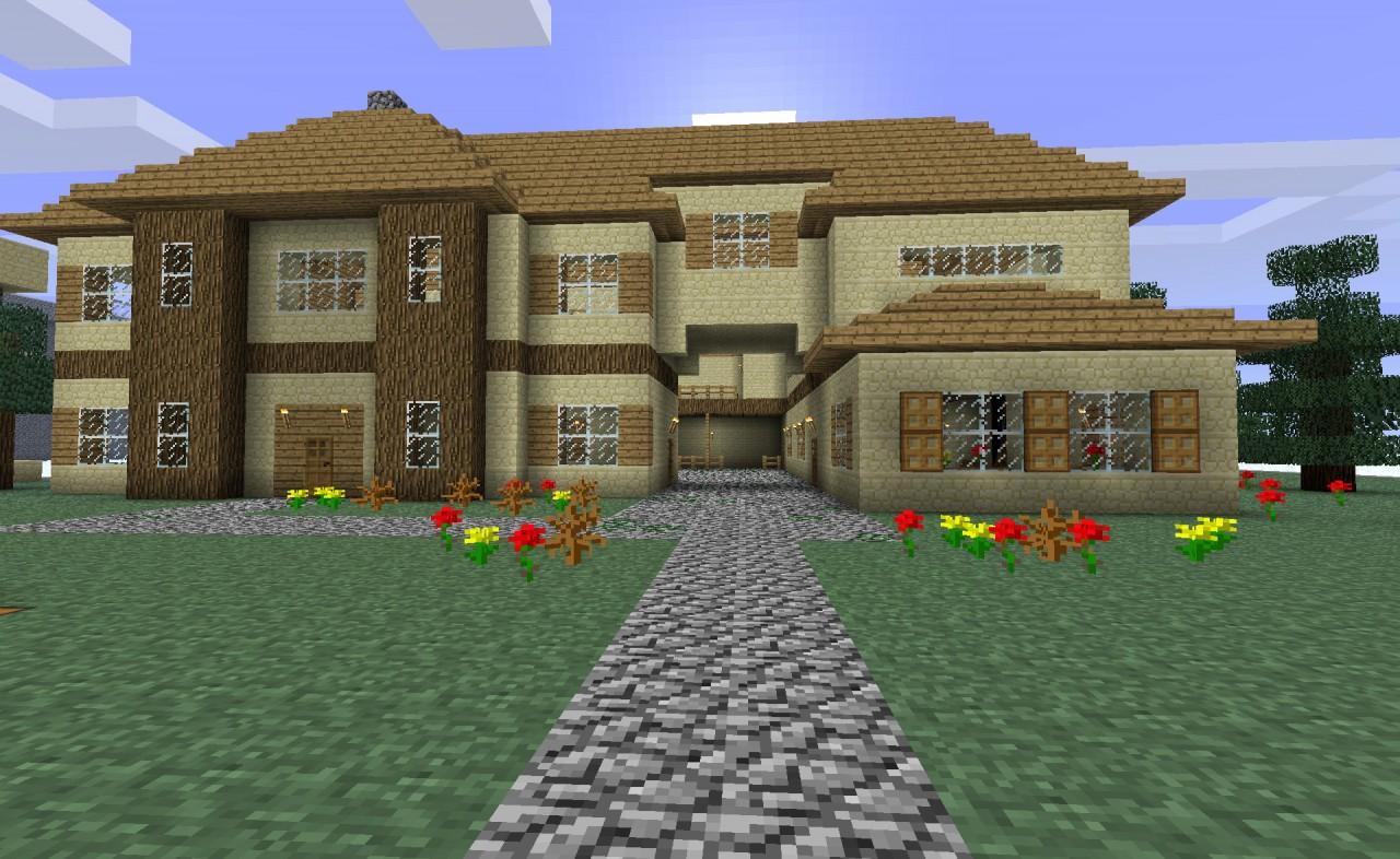 Фото красивых домов в майнкрафте 1.7.2