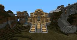 Temple of Justice and Surrounding City Minecraft Map & Project