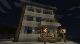 Tropical Beach House Minecraft Map & Project