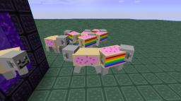 Nyan Saddle Minecraft Texture Pack