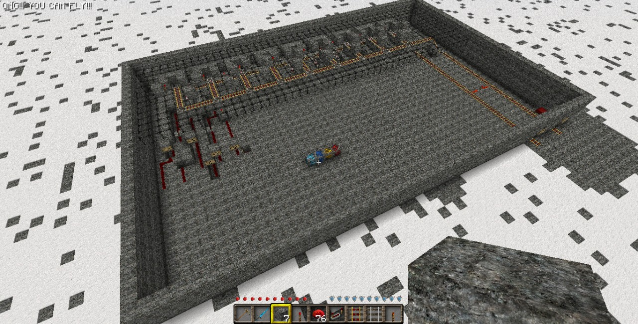 hopper minecraft recipe