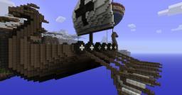 Valhallan Skyship - Equinox Minecraft Map & Project