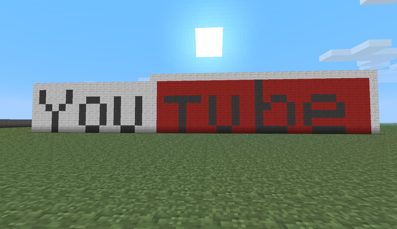 my first 001 pixel series youtube pixel art sign minecraft project. Black Bedroom Furniture Sets. Home Design Ideas