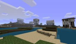 modern house designs Minecraft Map & Project