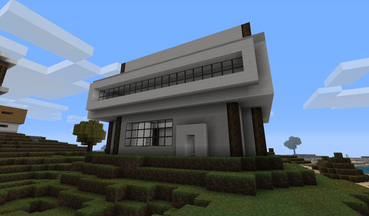 Modern house designs minecraft project for Minecraft modern house 9minecraft