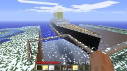 Titanic 1:1 V2 Minecraft Map & Project
