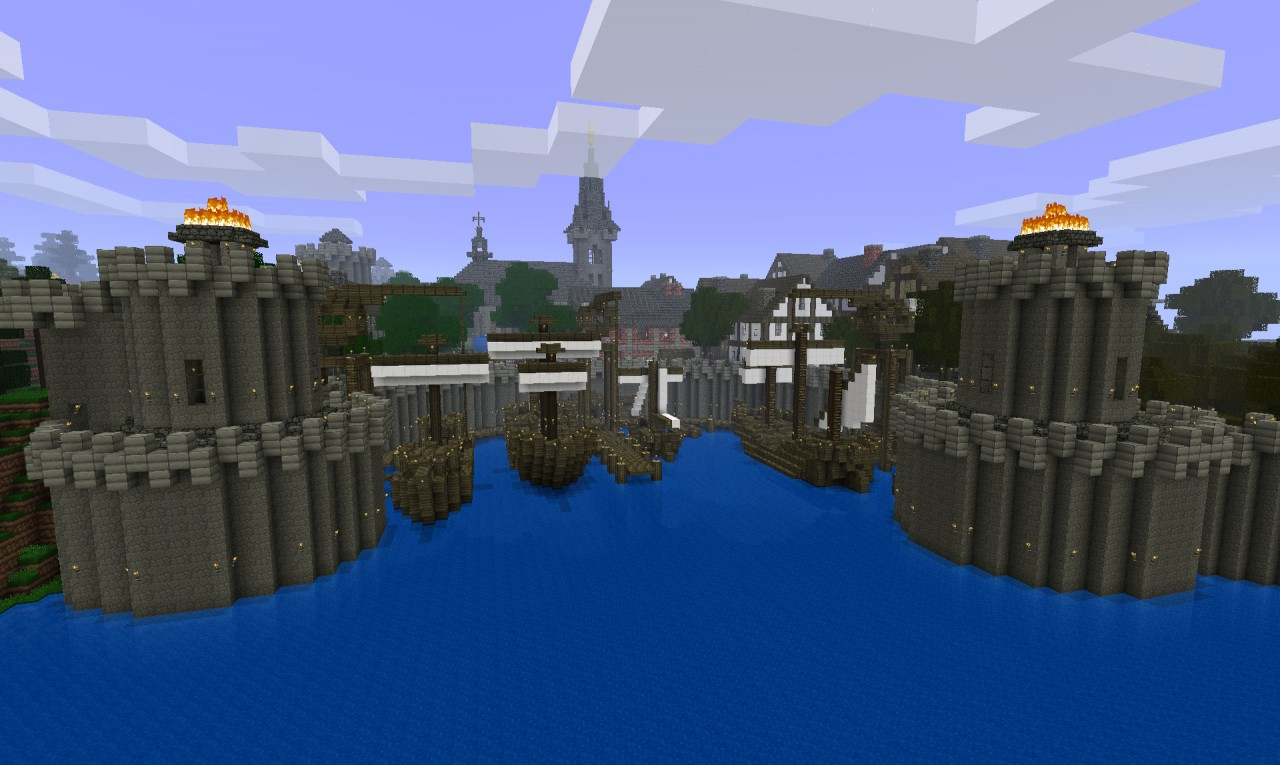 Medieval city 3d map as well minecraft medieval city map additionally