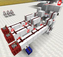 Efficient full adder Minecraft Map & Project
