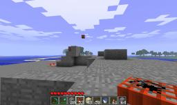 Semi-Auto TNT Cannon (Using Pistons) Minecraft Map & Project