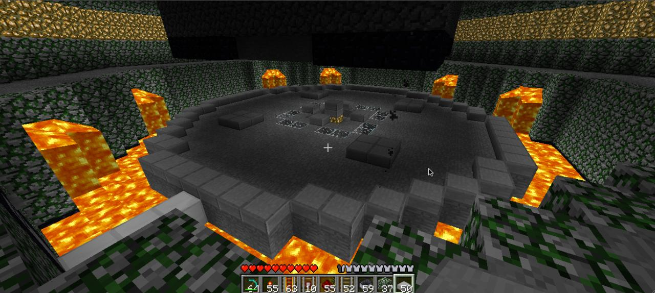 one of the arenas, just a standard flat circle. considering putting in terrain-based arenas.