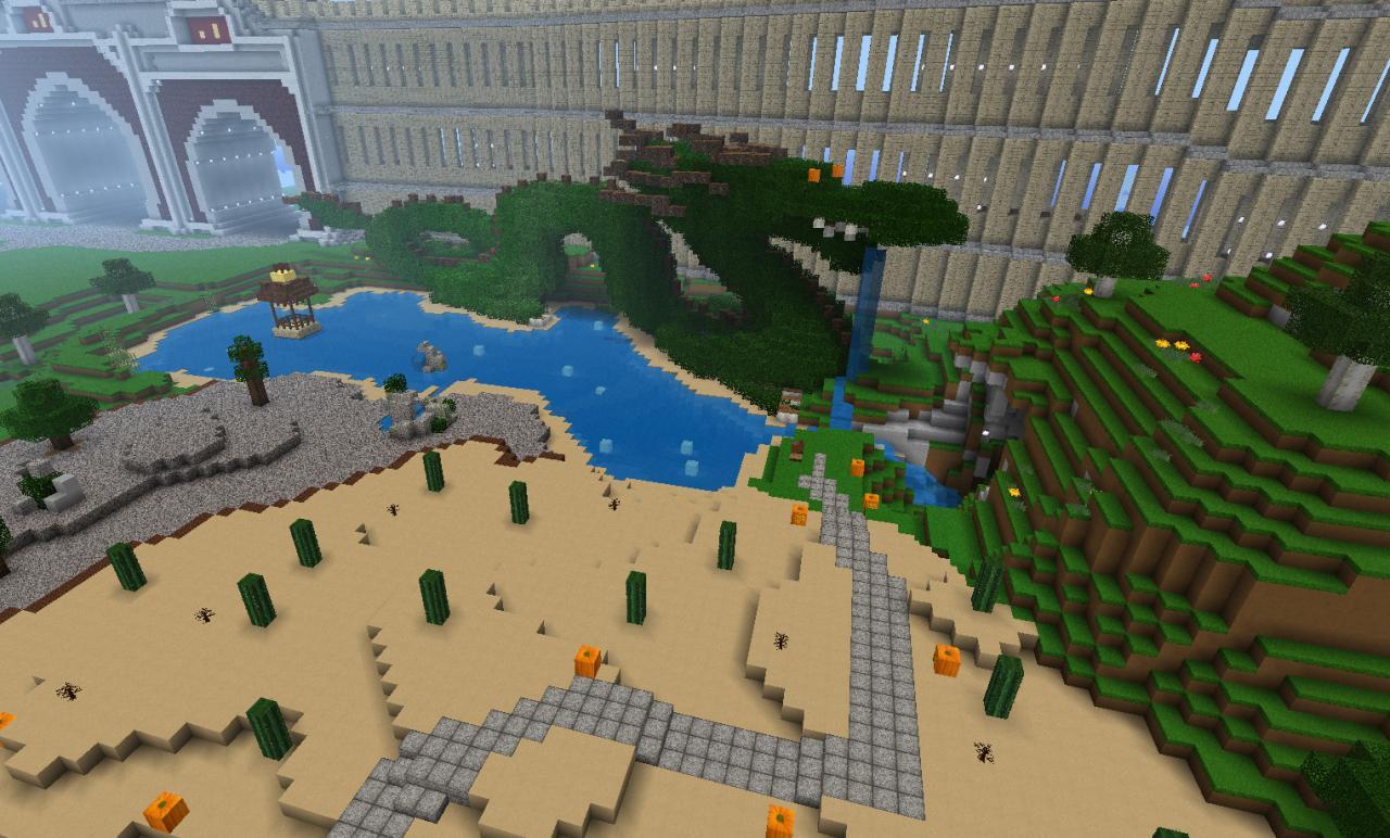 Park area (now complete)