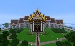 Temple of Serenity - A Thai Style Temple Complex Minecraft Project