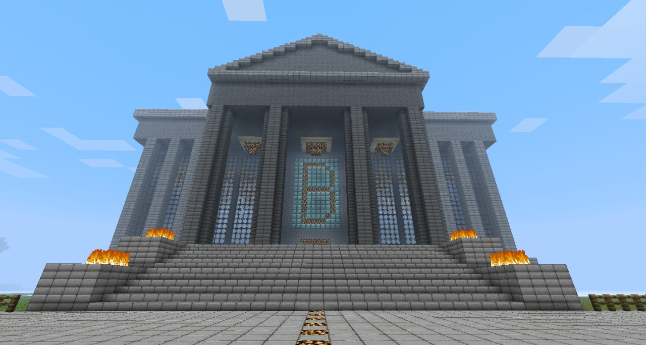 how to build a bank vault in minecraft