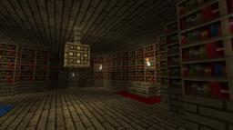 The Library's secret custom adventure map Minecraft Map & Project