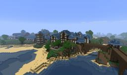 Wow's Stormwind city inspired town *Updated* Minecraft Map & Project