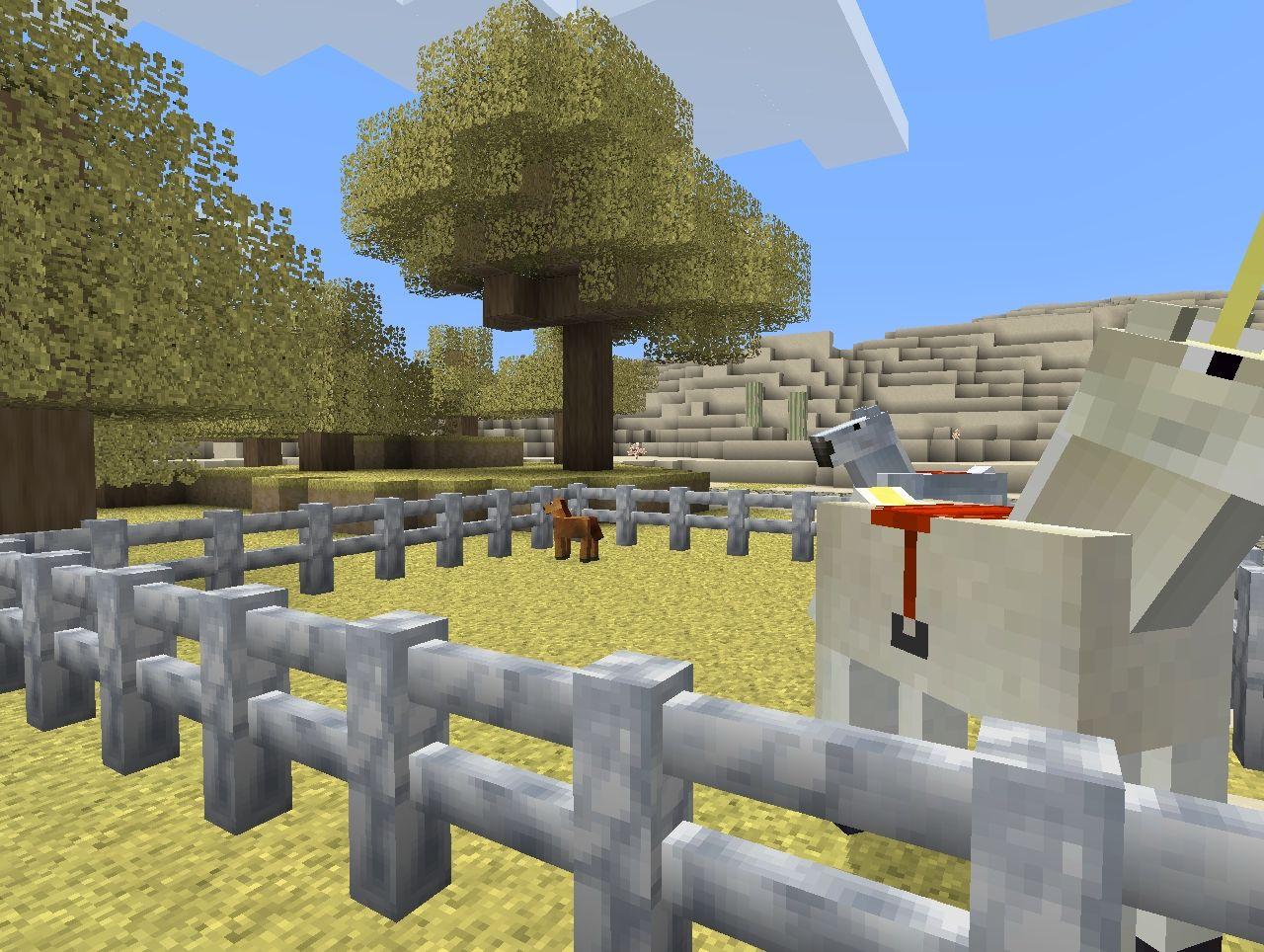 Minecraft Horse Ranch Minecraft Project