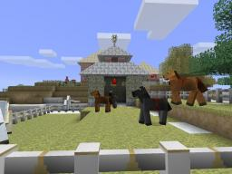 Minecraft Horse Ranch Minecraft Map & Project