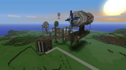 Cairnwood Skyport Minecraft Project