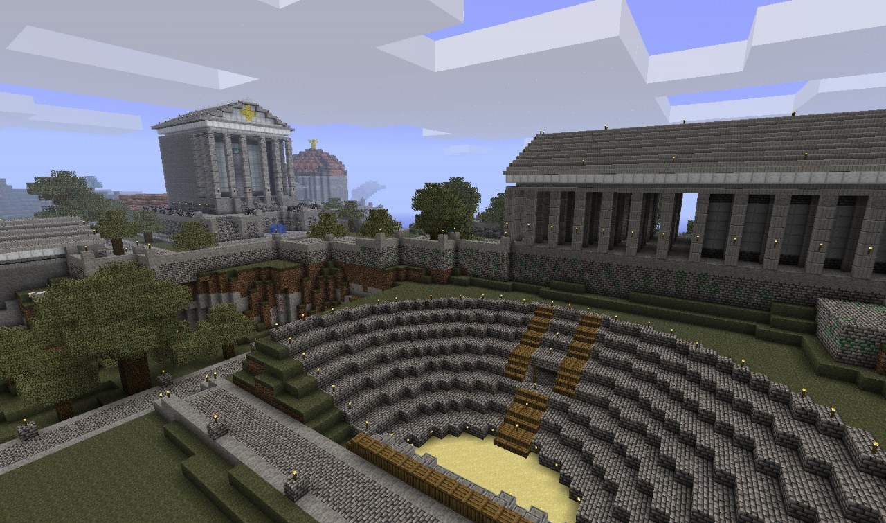 Temple District and Amphitheatre.