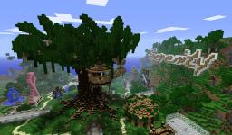 Serenity Treehouse Minecraft Map & Project