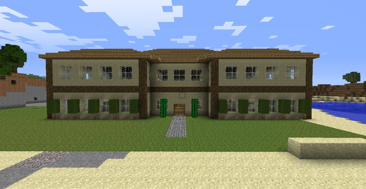 Ranch house v2 minecraft project - What is a ranch house ...