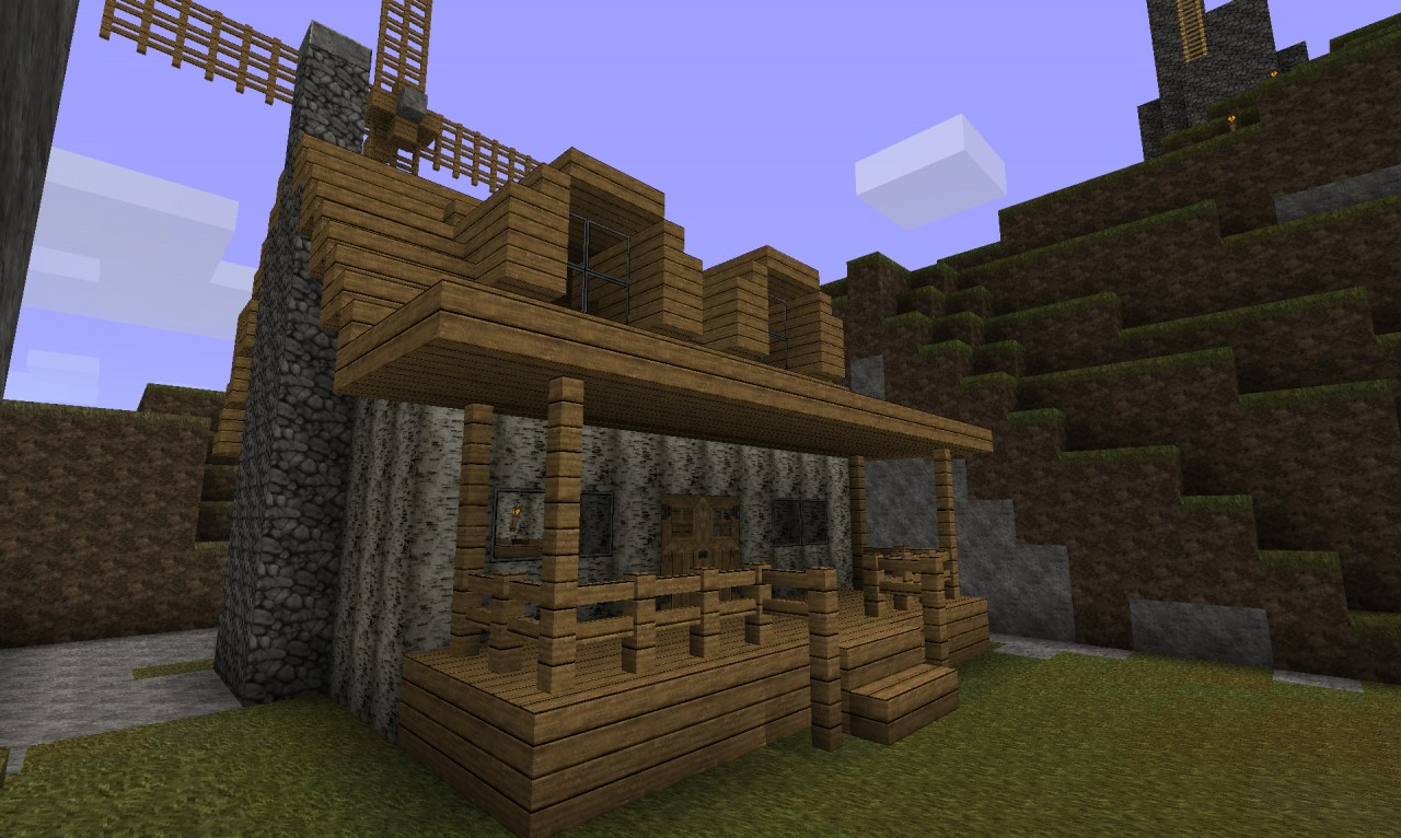 small minecraft cabin designs viewing gallery
