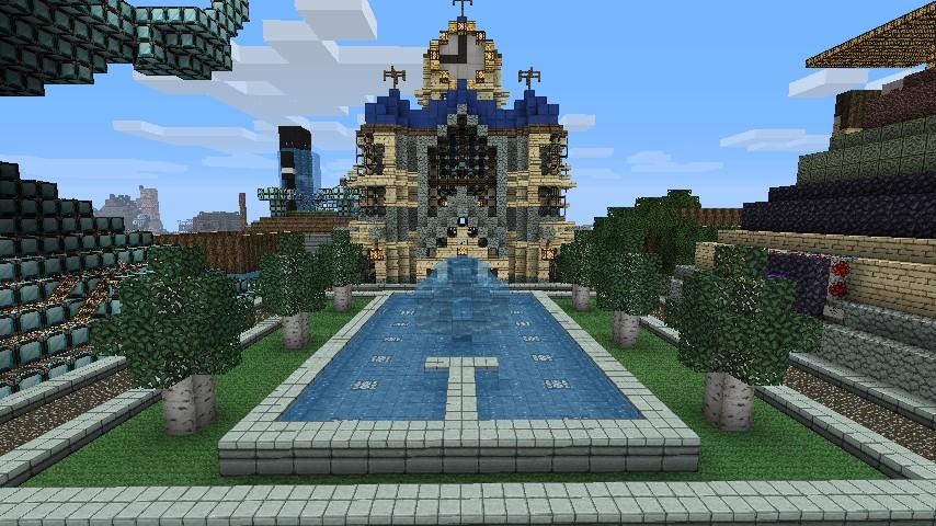 Chateau de eside minecraft project - Chateau de minecraft ...