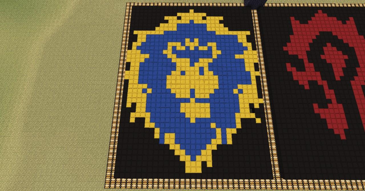 Alliance Faction Symbol Minecraft Project
