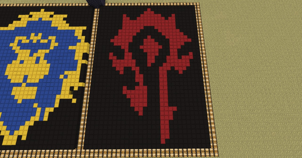 Horde Faction Symbol Minecraft Project